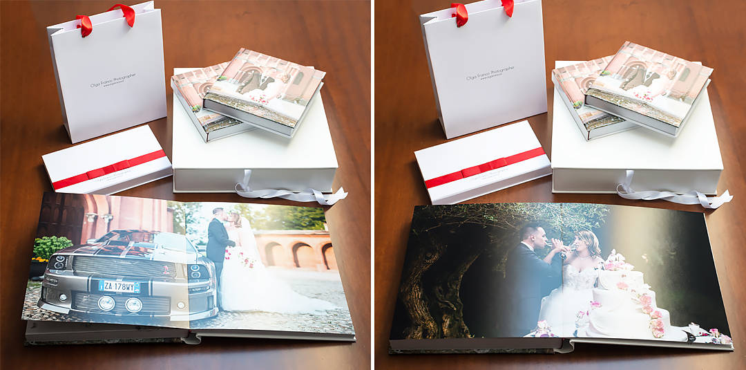 Italian photo book, wedding album, photographer in Italy