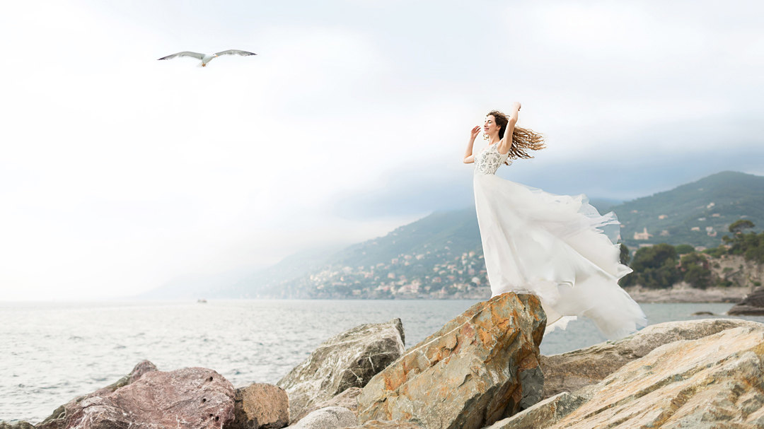 Wedding in Portofino, wedding photographer in Portofino Liguria
