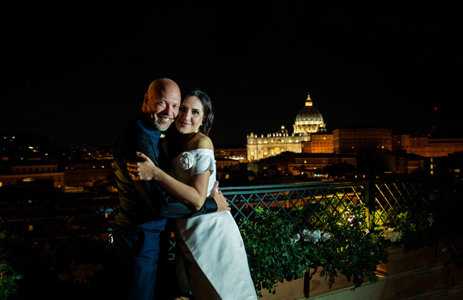Wedding in Rome, wedding photographer in Rome, planner in Rome