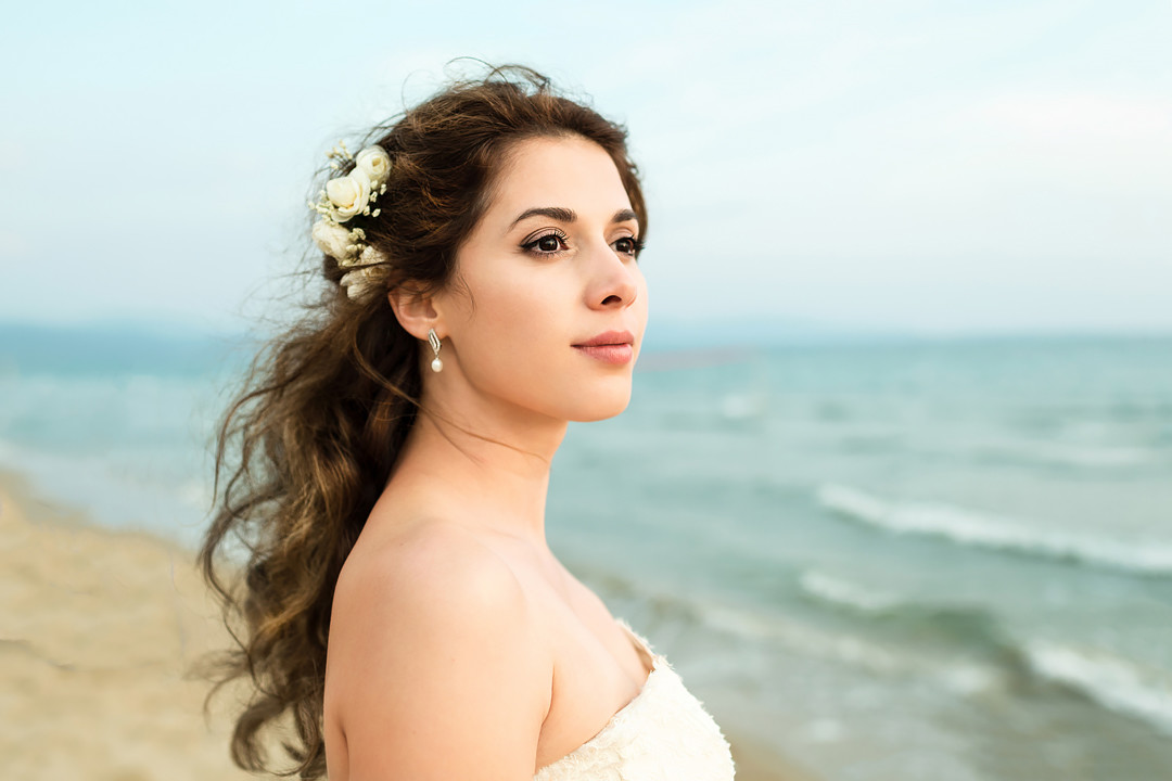 bride portrait tuscany follonica