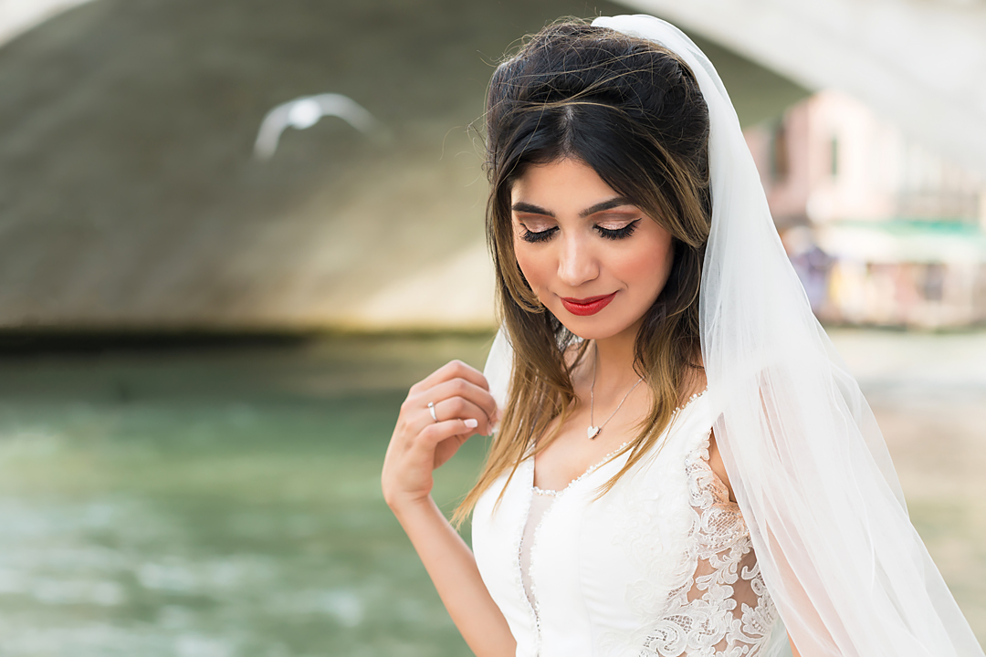 bride venice wedding