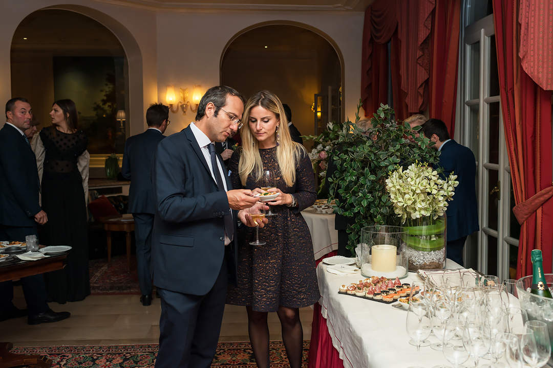 guests wedding aperitif turin