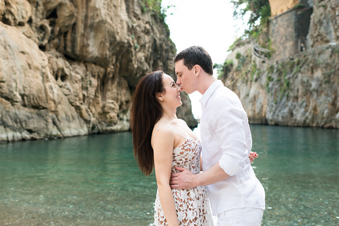 newlyweds shooting amalfi