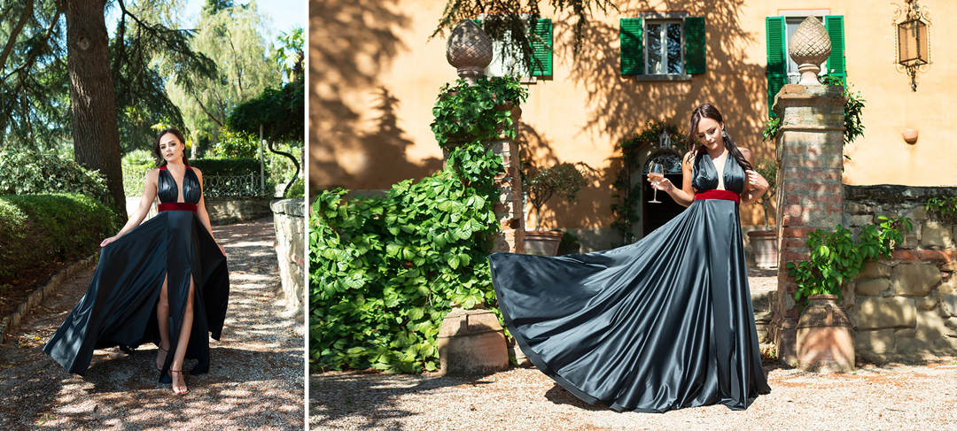 pre wedding shooting tuscany