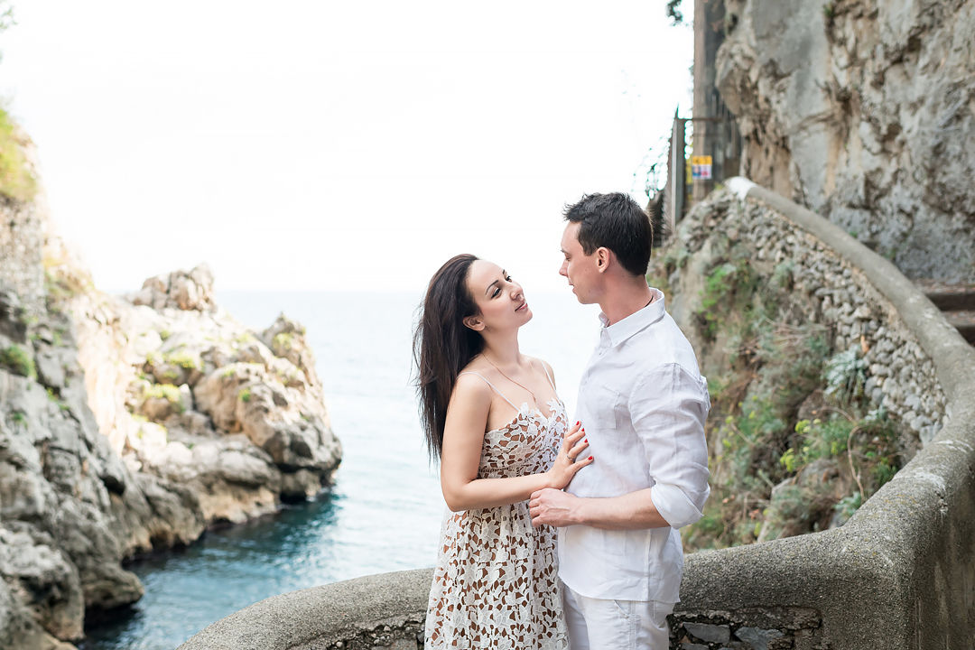 shooting in positano