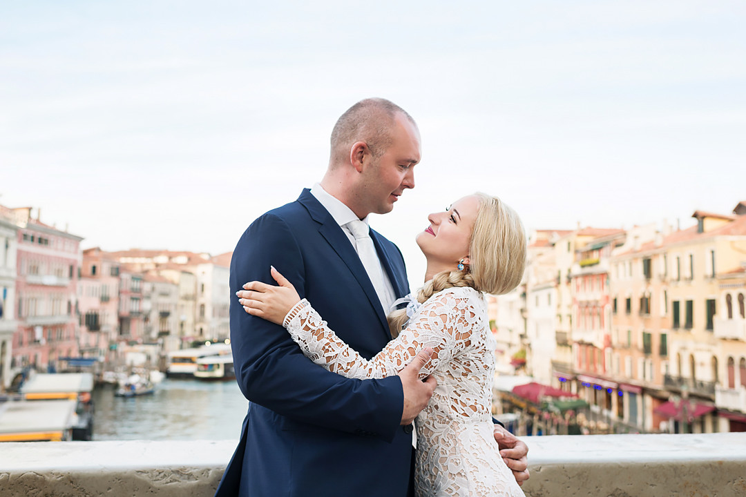 venice wedding day