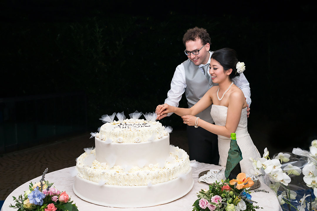 wedding cake turin