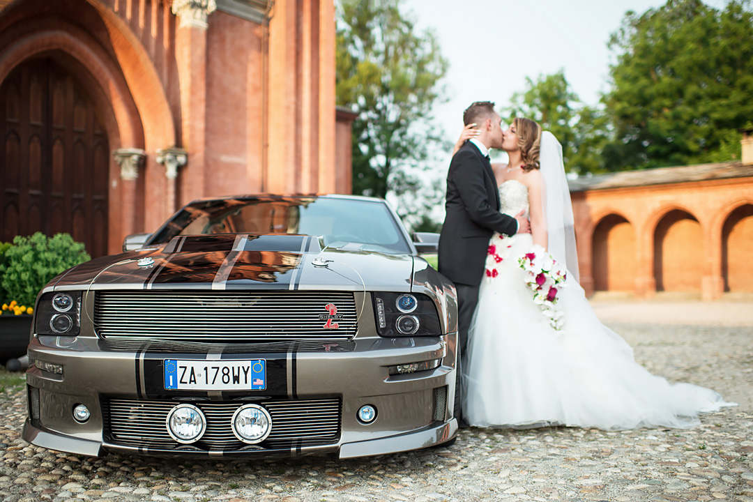 wedding car italy