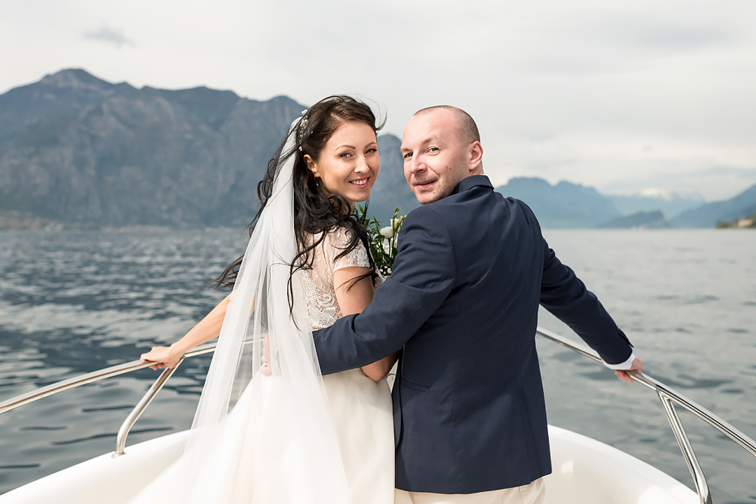 wedding garda lake malcesine