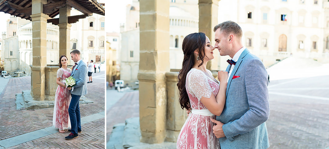 wedding photo shoot in arezzo