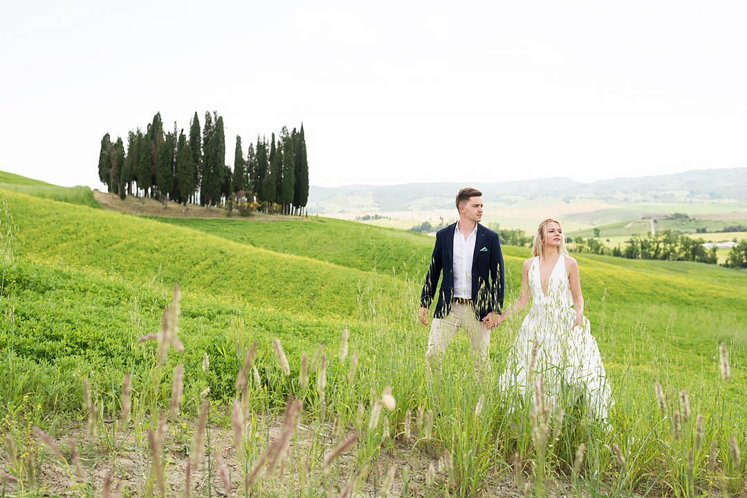 wedding photos tuscany