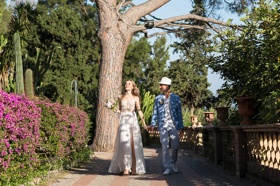 wedding shooting taormina