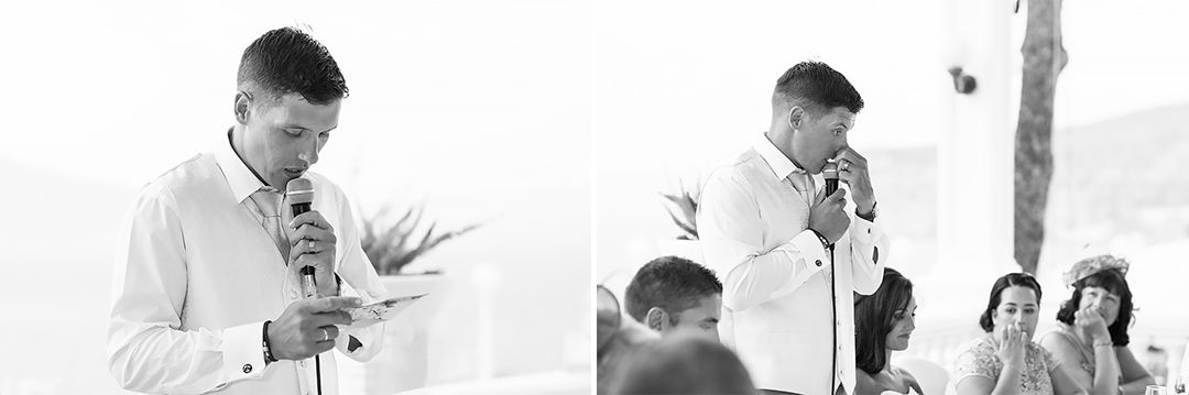 wedding speach groom sorrento